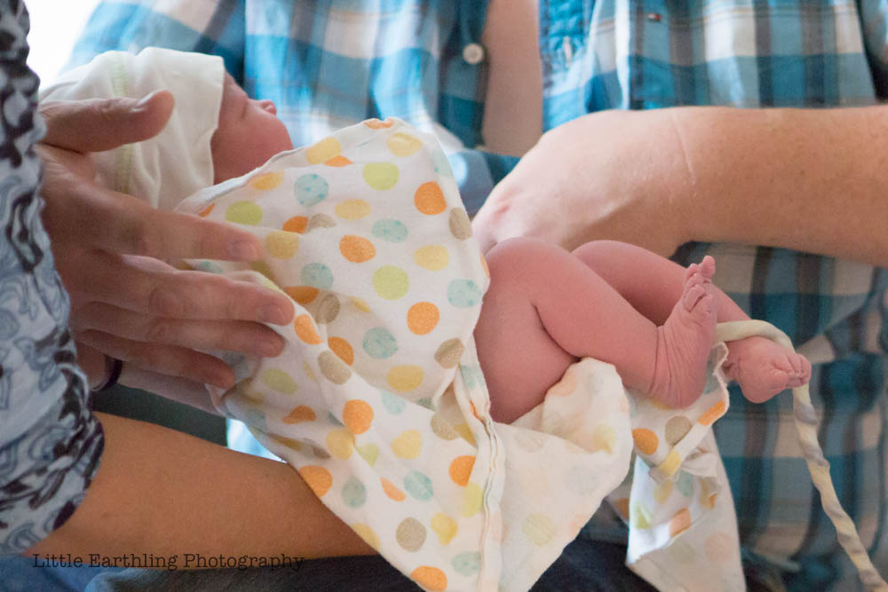 Beautiful, natural water birth of Lydia . Bellingham Birth Center
