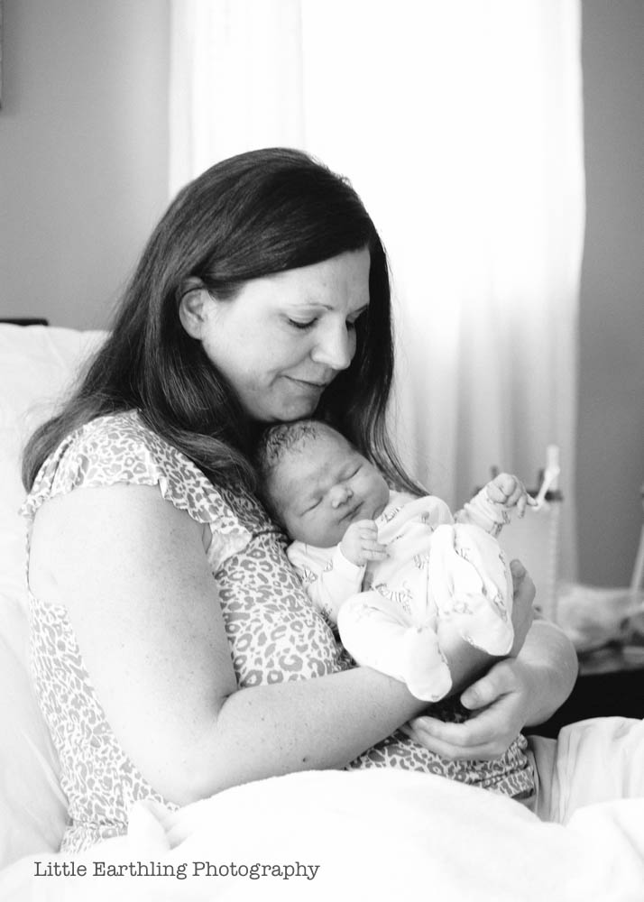 Beautiful, natural water birth of Lydia . Bellingham Birth Center