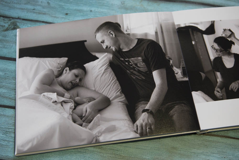 Photo books are a beautiful, simple way to preserve your birth memories.