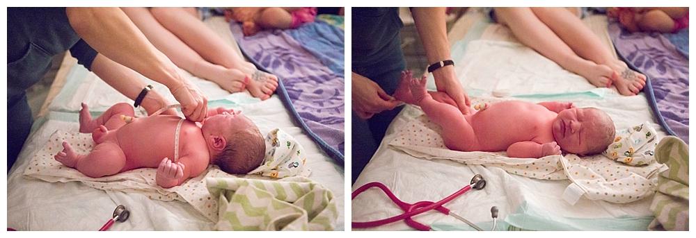 Bellingham birth photographer Renee Bergeron captures a beautiful homebirth.