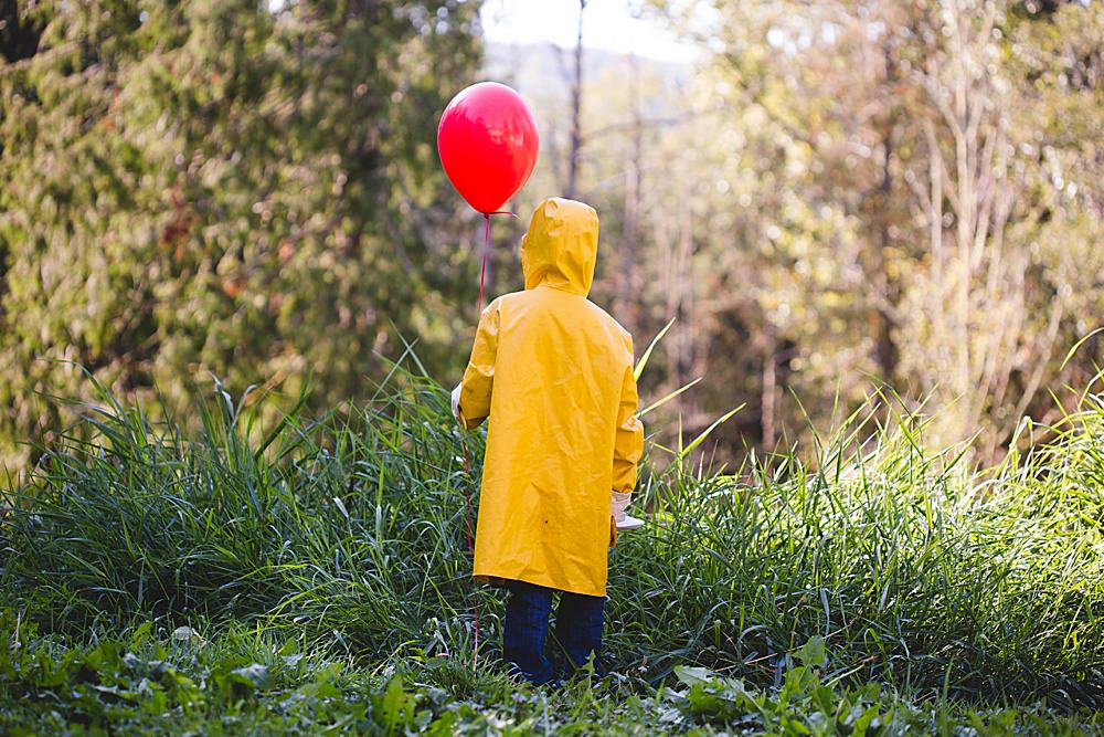 Apollo makes a great Georgie in this It-inspired photo shoot.