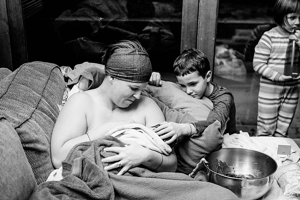 Family-centered homebirth.