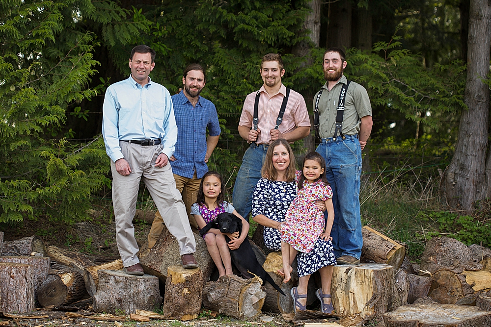 Family photography by Bellingham photographer Renee Bergeron