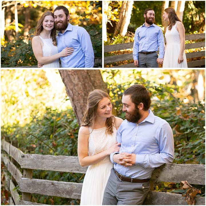 engagement photos at Woodstock Farm
