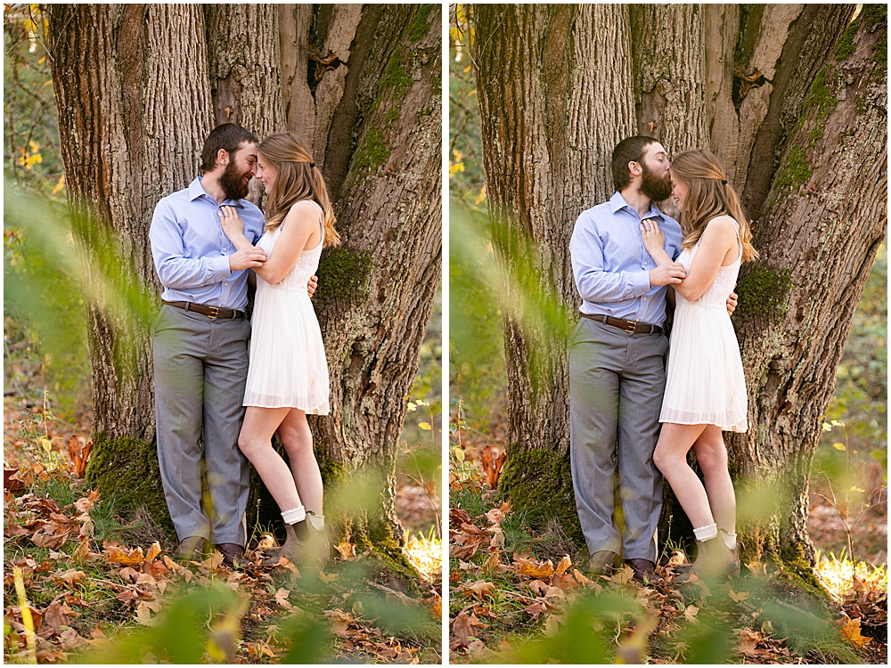 Engagement session at Woodstock Farms.