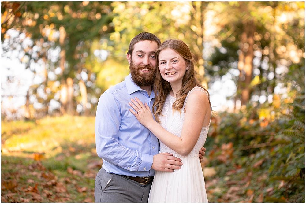 Beautiful engagement photos at Woodstock Farm